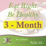 3 month – Eat Right. Be Healthy. meal planner by KARDIO-XERCISE™