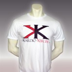 Mens tee shirt 100% cotton (White)