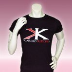 Ladies tee shirt 100% cotton (Black)