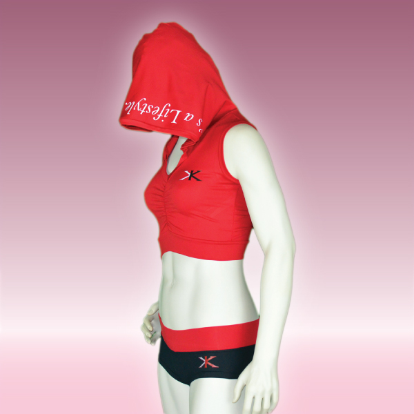 KARDIO-XERCISE™ Hooded top W/ bottoms