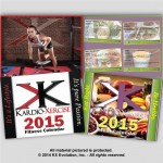 2015 KX Fitness & Eat Right Be Healthy Meal Calendars - COMBO PACK