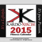 2015 Kardio-Xercise™ Fitness Calendar plus Exercise Journal